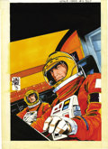 Original Comic Art:Covers, John Byrne - Space: 1999 #5 Cover Original Art (Charlton, 1975). ....
