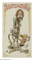 Original Comic Art:Sketches, Jack Davis - Mother's Day Card Illustration Original Art (undated). When it came to the offbeat humor of the sixties and sev...
