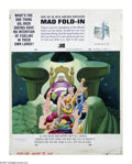 "Original Comic Art:Splash Pages, Al Jaffee - Mad #195 Fold-In Back Cover Original Art (EC, 1978).This issue's Fold-In puzzler begins, ""What's the one thing ..."
