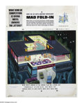 "Original Comic Art:Splash Pages, Al Jaffee - Mad #202 Fold-In Back Cover Original Art (EC, 1978).Okay, Mad Fold-In fans, ""What kind of competition is gi..."
