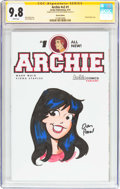 Modern Age (1980-Present):Humor, Archie #1 Sketch Edition (Archie, 2015) CGC NM/MT 9.8 Whitepages....