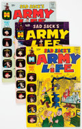 Bronze Age (1970-1979):Humor, Sad Sack's Army Life Parade File Copies Box Lot (Harvey, 1969-76)Condition: Average NM-....