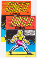 Silver Age (1956-1969):Alternative/Underground, Snatch Comics #1 Group of 2 (Apex Novelties, 1968-72) Condition:Average FN.... (Total: 2 Comic Books)