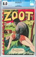 Golden Age (1938-1955):Adventure, Zoot Comics #10 (Fox Features Syndicate, 1947) CGC VF 8.0 Off-white to white pages....