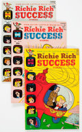 Silver Age (1956-1969):Humor, Richie Rich Success Stories File Copies Box Lot (Harvey, 1966-82) Condition: Average VF/NM....