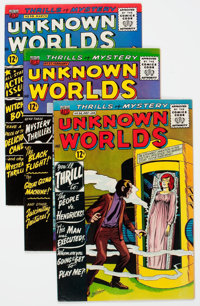 Unknown Worlds #36-50 and 57 Group (ACG, 1965-67) Condition: Average FN/VF.... (Total: 16 Comic Books)