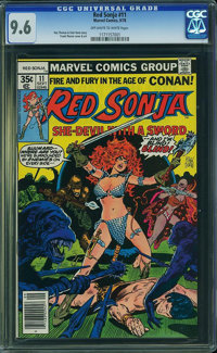 Red Sonja #11 (Marvel, 1978) CGC NM+ 9.6 Off-white to white pages