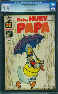Baby Huey and Papa #8 - File Copy (Harvey, 1963) CGC NM 9.4 Off-white to white pages