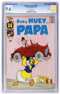 Silver Age (1956-1969):Cartoon Character, Baby Huey and Papa #1 - FILE COPY (Harvey, 1962) CGC NM+ 9.6 Off-white pages.