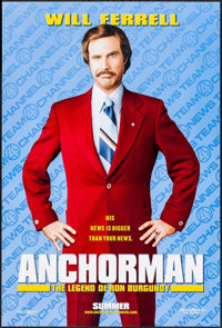 "Anchorman: The Legend of Ron Burgundy & Other Lot (DreamWorks, 2004). One Sheets (2) (27"" X 40"") DS Ad..."