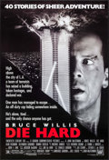 "Movie Posters:Action, Die Hard (20th Century Fox, 1988). One Sheet (27"" X 40"") SS.Action.. ..."
