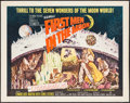 """Movie Posters:Science Fiction, First Men in the Moon (Columbia, 1964). Half Sheet (22"""" X 28"""").Science Fiction.. ..."""