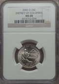 Statehood Quarters, 2009-D 25C District of Columbia MS68 NGC. NGC Census: (2/0). ...