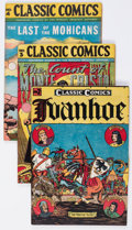 Golden Age (1938-1955):Classics Illustrated, Classic Comics #2-5 and 56 Group (Gilberton, 1946-49).... (Total: 5Comic Books)