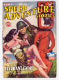 Pulps:Adventure, Speed Adventure Stories - May 1943 (Trojan Publishing) Condition: VG....