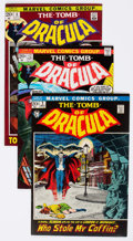 Bronze Age (1970-1979):Horror, Tomb of Dracula Group of 68 (Marvel, 1972-79) Condition: AverageFN/VF.... (Total: 68 Comic Books)