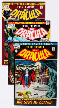 Tomb of Dracula Group of 68 (Marvel, 1972-79) Condition: Average FN/VF.... (Total: 68 Comic Books)