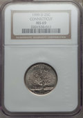 Statehood Quarters, 1999-D 25C Connecticut MS69 NGC. NGC Census: (2/0). ...
