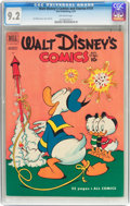 Golden Age (1938-1955):Cartoon Character, Walt Disney's Comics and Stories #131 (Dell, 1951) CGC NM- 9.2Off-white pages....