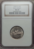 Statehood Quarters, 1999-D 25C New Jersey MS68 NGC. NGC Census: (32/0). PCGSPopulation: (2/0). ...