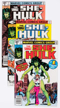 Modern Age (1980-Present):Superhero, The Savage She-Hulk #1-25 Group (Marvel, 1980-82) Condition:Average VF.... (Total: 25 Comic Books)