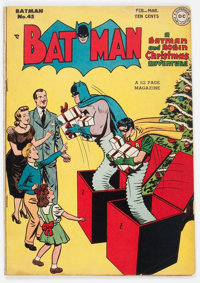 Batman #45 (DC, 1948) Condition: VG