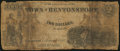 Obsoletes By State:Iowa, Bentonsport, IA- Town of Bentonsport $2 Aug. 1857. ...