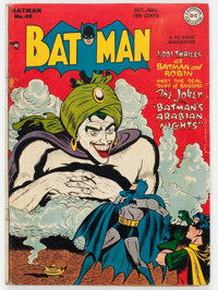 Batman #49 (DC, 1948) Condition: Apparent VG-