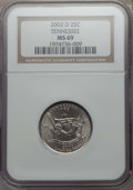 Statehood Quarters, 2002-D 25C Tennessee MS69 NGC. NGC Census: (2/0). ...