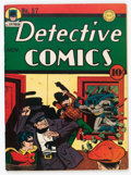 Golden Age (1938-1955):Superhero, Detective Comics #57 (DC, 1941) Condition: Apparent FN+....