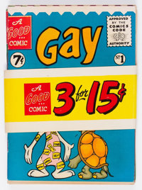 Modern Store Banded Comic Set of 3 (Modern Store Publications/ACG, 1955) Average Condition: VF-.... (Total: 3 Items)