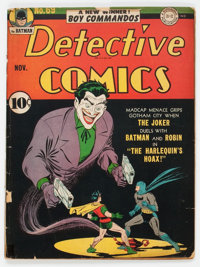 Detective Comics #69 (DC, 1942) Condition: GD/VG