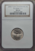 Jefferson Nickels, 2004-P 5C Peace Medal, Doubled Die Obverse, MS64 NGC. FS-2004P-111. PCGS Population: (15/18). ...