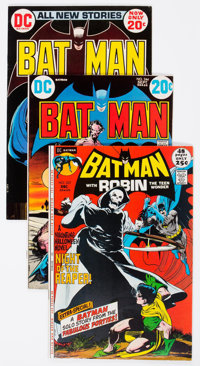 Batman Group of 39 (DC, 1963-86) Condition: Average FN.... (Total: 39 Comic Books)