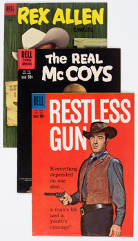 Dell Golden to Silver Age Westerns Group of 11 (Dell, 1950s-60s) Condition: Average FN/VF.... (Total: 11 Comic Books)