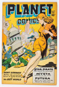 Golden Age (1938-1955):Science Fiction, Planet Comics #57 (Fiction House, 1948) Condition: FN-....