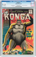 Silver Age (1956-1969):Science Fiction, Konga #1 (Charlton, 1960) CGC VF/NM 9.0 Off-white to whitepages....