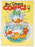 Golden Age (1938-1955):Cartoon Character, Walt Disney's Comics and Stories #23 (Dell, 1942) Condition: FN-....