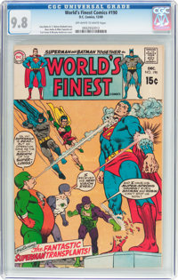 World's Finest Comics #190 (DC, 1969) CGC NM/MT 9.8 Off-white to white pages