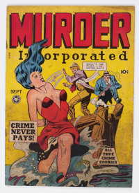 Murder Incorporated #5 (Fox Features Syndicate, 1948) Condition: VG