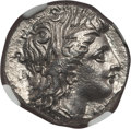 Ancients:Greek, Ancients: LUCANIA. Metapontum. Ca. 330-280 BC. AR nomos or stater(7.78 gm). NGC MS 5/5 - 3/5....