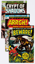 Bronze Age (1970-1979):Horror, Marvel Bronze Age Horror Comics Group of 8 (Marvel, 1970s)Condition: Average NM-.... (Total: 8 Comic Books)