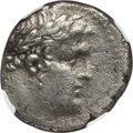 Ancients:Greek, Ancients: PHOENICIA. Tyre. 126/5 BC-AD 67/8. AR shekel. NGC XF,smoothing....