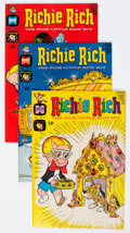 Bronze Age (1970-1979):Humor, Richie Rich File Copies Group of 78 (Harvey, 1968-77) Condition: Average NM-.... (Total: 78 Comic Books)