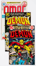 Bronze Age (1970-1979):Superhero, The Demon/OMAC Group of 24 (DC, 1972-75) Condition: Average FN.... (Total: 24 Comic Books)