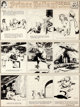 Hal Foster Prince Valiant Sunday Comic Strip #241 Original Art dated 9-21-41 (King Features Syndicate, 1941)