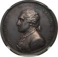 German States, German States: Saxony. Napoleon I and Friedrich August Medal 1807 MS62 NGC,...