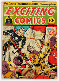 Exciting Comics #28 (Nedor/Better/Standard, 1943) Condition: FR
