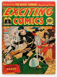 Exciting Comics #23 (Nedor/Better/Standard, 1942) Condition: GD/VG