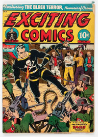 Exciting Comics #29 (Nedor/Better/Standard, 1943) Condition: GD/VG